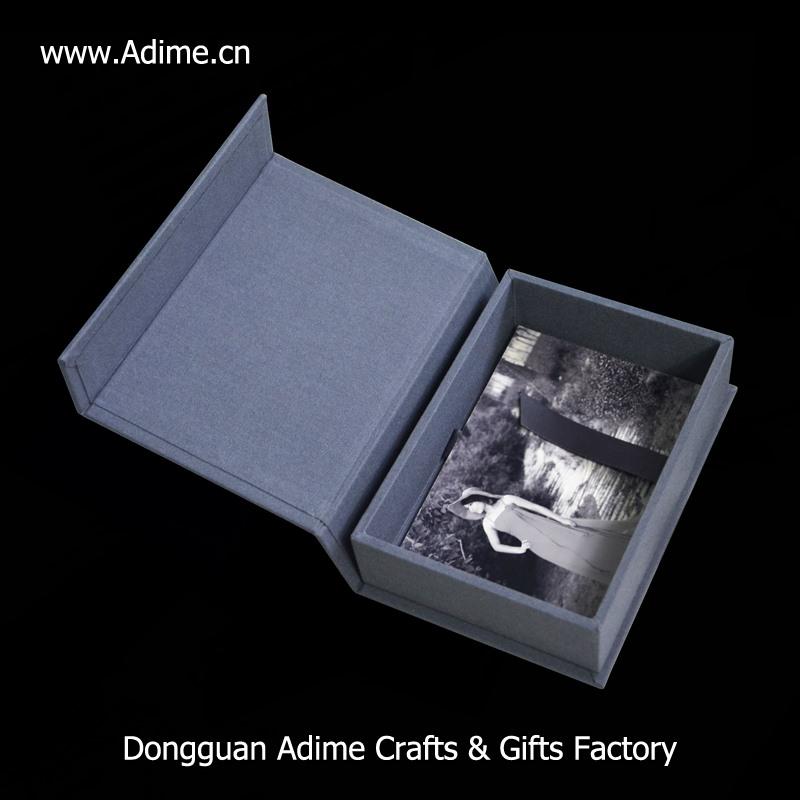 linen printing photo box for photographer
