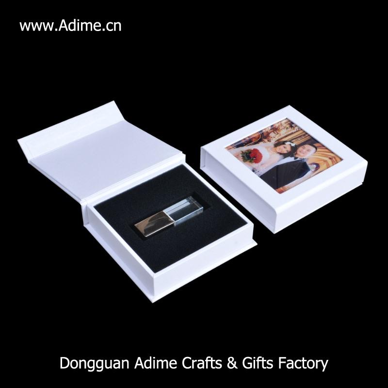 paper wedding USB flash drive box