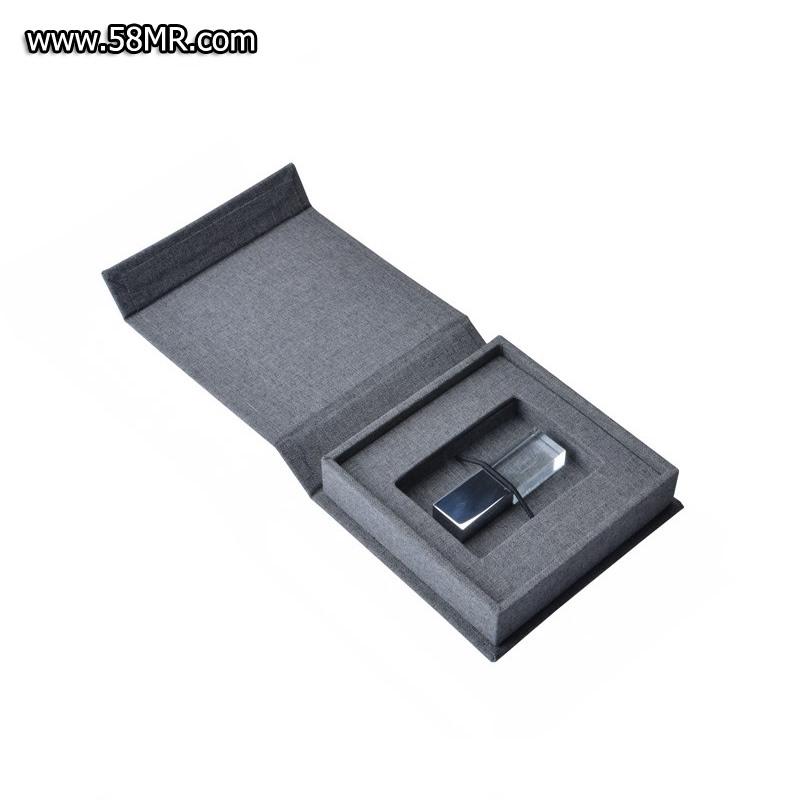 Linen Cotton USB Folio Cases