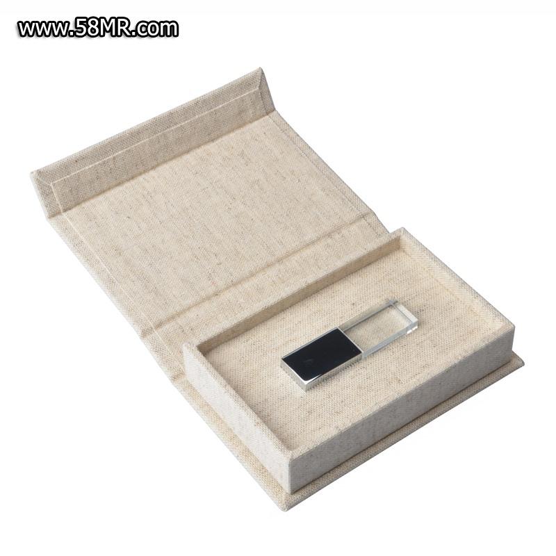 3.0 64GB crystal USB stick box