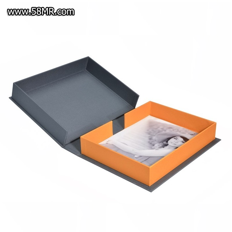 Linen Wedding Photo Book Album Packaging Gift Box