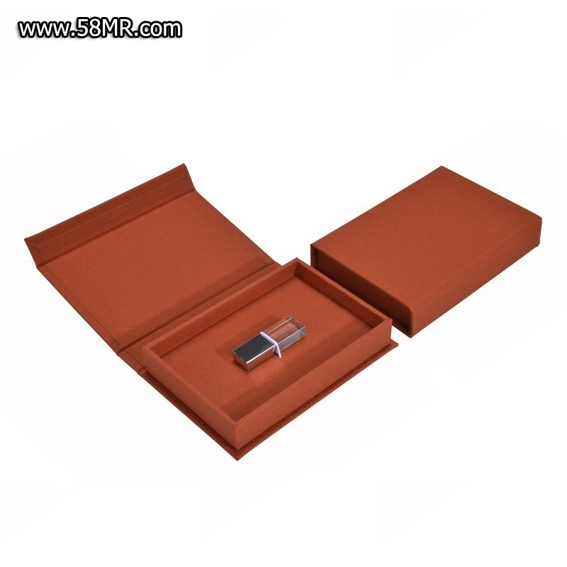 book cloth USB Packaging Case