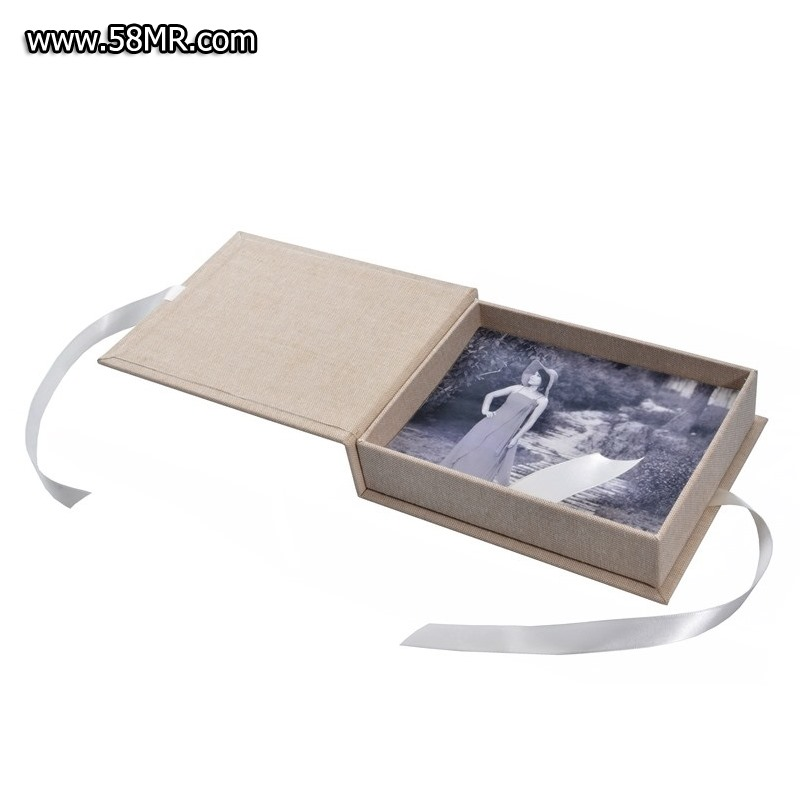 linen <a href=http://www.adime.cn/en/products/USB-Photo-DVD-Packaging.html target='_blank'>USB Photo DVD Packaging</a> case