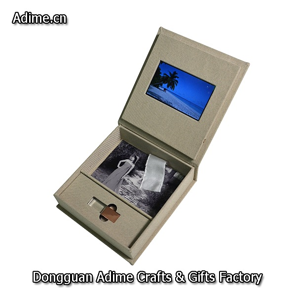 screen video photo USB box