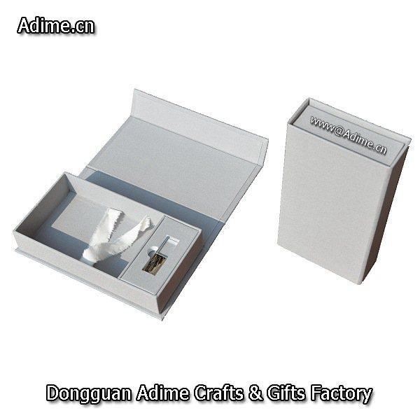 Photo Packaging Box with USB Holder