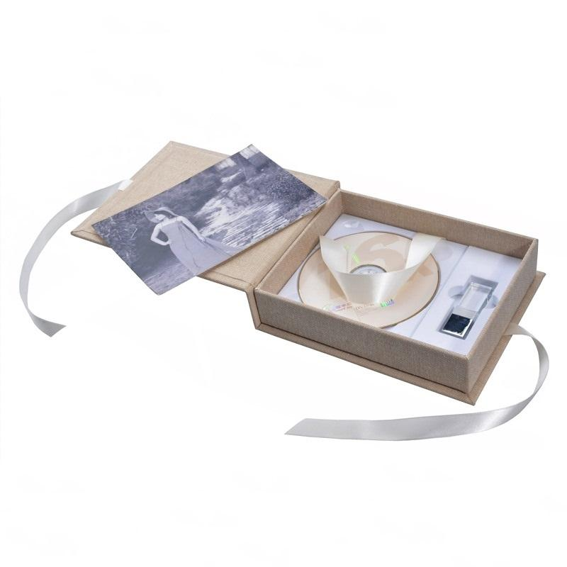 DVD USB Photo Gift Box